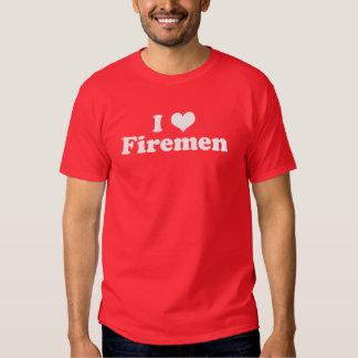 I Love Firemen Tee Shirt