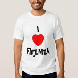 I LOVE FIREMEN TSHIRTS