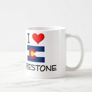 I Love FIRESTONE Colorado Basic White Mug