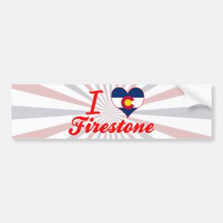 I Love Firestone Colorado Bumper Stickers