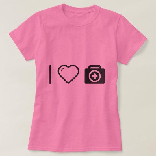 I Love First Aid Kits T-Shirt