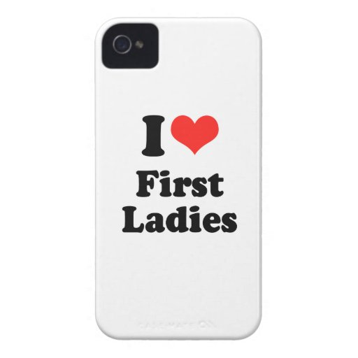 I LOVE FIRST LADIES.png Blackberry Bold Cases