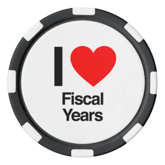 i love fiscal years poker chips