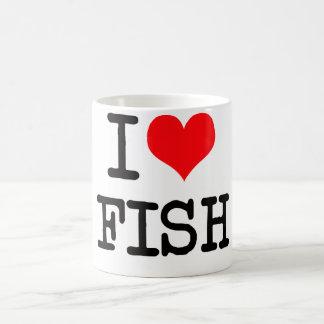 I Love Fish Mug
