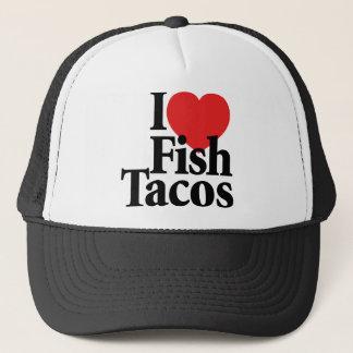 I Love Fish Tacos Trucker Hat