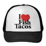 I Love Fish Tacos Trucker Hats