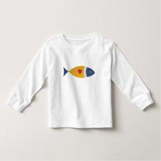 I love fish toddler T-Shirt