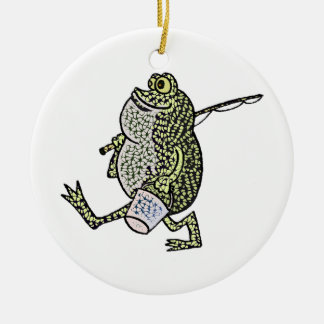 I love fishing! christmas ornament