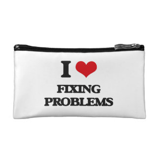i LOVE fIXING pROBLEMS Cosmetics Bags