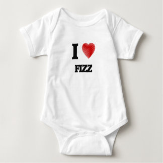 I love Fizz Baby Bodysuit
