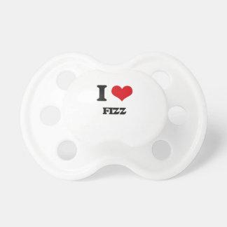 i LOVE fIZZ BooginHead Pacifier