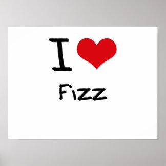 I Love Fizz Print