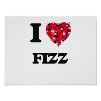 I Love Fizz Poster
