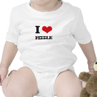 i LOVE fIZZLE Baby Bodysuits