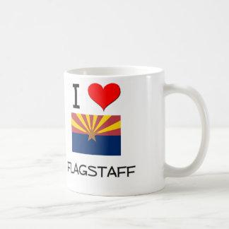 I Love FLAGSTAFF Arizona Basic White Mug