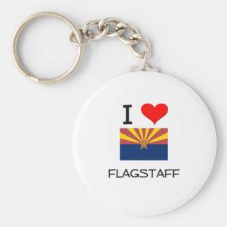 I Love FLAGSTAFF Arizona Key Chain
