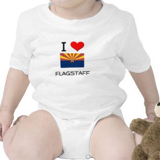 I Love FLAGSTAFF Arizona Baby Bodysuit