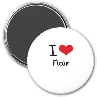I Love Flair Fridge Magnet