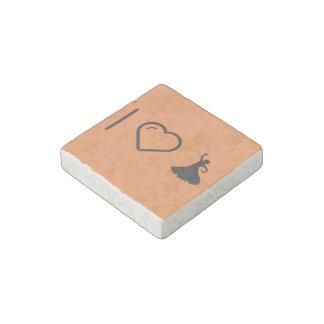 I Love Flamenco Hands Stone Magnet