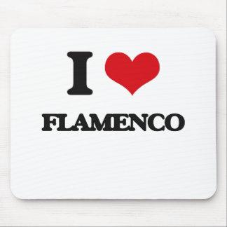 I Love FLAMENCO Mouse Pad