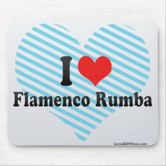 I Love Flamenco Rumba Mousepad