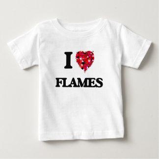 I Love Flames Infant T-Shirt
