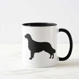 I Love Flat Coated Retrievers Mug