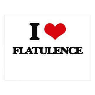 i LOVE fLATULENCE Post Card
