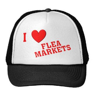 I Love Flea Markets Trucker Hat