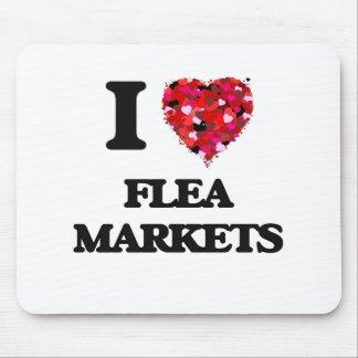 I Love Flea Markets Mouse Pad