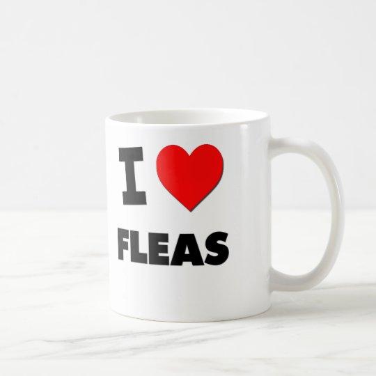 I Love Fleas Coffee Mug