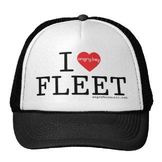 I Love Fleet Hats