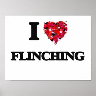 I Love Flinching Poster