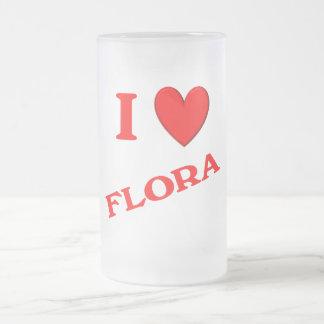I Love Flora Mugs
