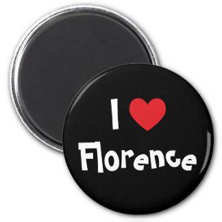 I Love Florence Magnet