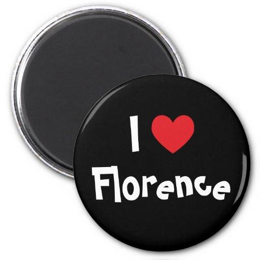 I Love Florence Magnets