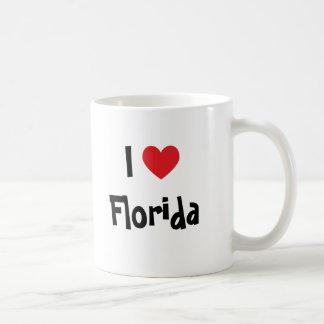 I Love Florida Basic White Mug