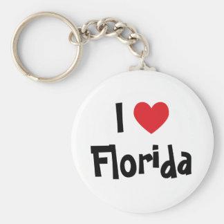 I Love Florida Key Ring