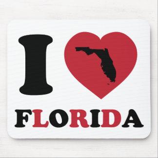 I Love Florida Mouse Pad