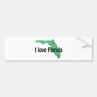 i love Florida porducts Bumper Sticker