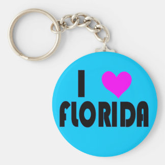 I Love Florida USA keychain