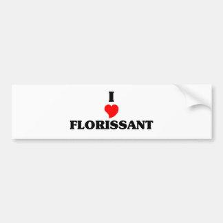 I love Florissant Car Bumper Sticker