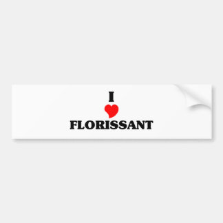 I love Florissant Bumper Sticker