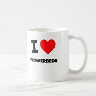 I Love Flowerbeds Coffee Mug