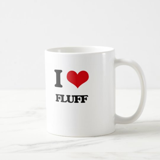 i LOVE fLUFF Coffee Mug