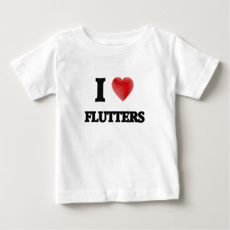 I love Flutters Baby T-Shirt