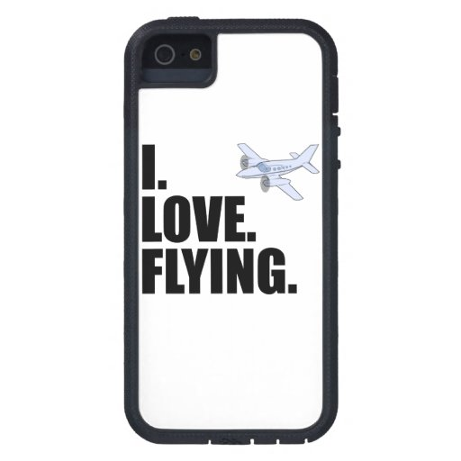 I Love Flying iPhone 5 Cover