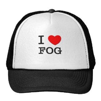 I Love Fog Mesh Hat