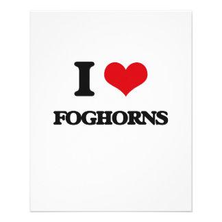i LOVE fOGHORNS Full Color Flyer