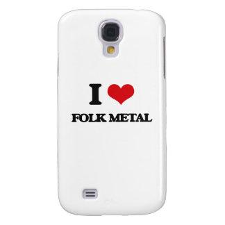 I Love FOLK METAL Galaxy S4 Case